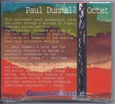 Paul Dunmall Octet CD Great Divide Keith Tippett John Adams Evan Parker