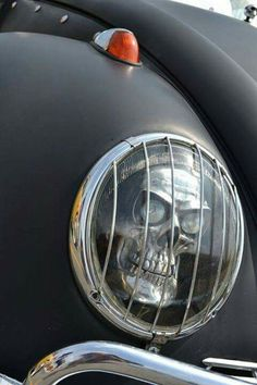 Skull Head Lamp Modification