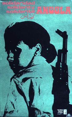 Angolan propaganda poster
