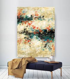 Original Painting,Painting on Canvas Modern Wall Decor Contemporary Art, Abstract Painting Large Abstract Wall Art, Canvas Wall Art, Wall Art Prints, Texture Painting On Canvas, Canvas Paintings, Abstract Paintings, Bathroom Paintings, Large Painting, Contemporary Wall Art