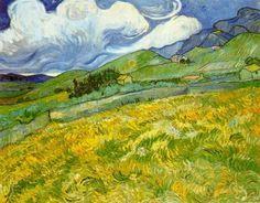 Vincent van Gogh – Landscape at Saint-Remy – 1889