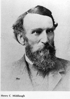 Henry Middaugh was one of the founders of the Village of Clarendon Hills.  He purchased 270 acres north of the Burlington railroad.