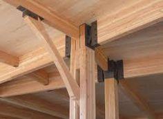 Resultado de imagen de connecting wood beams