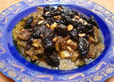 This classic Moroccan dish combines sweet and savory flavors. Recipe includes directions for preparing in a tagine, pot or pressure cooker.