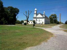 Old church on backroads in Cartersville GA.
