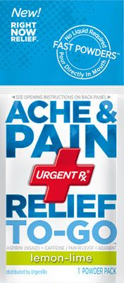 UrgentRx Ache& Pain Relief #myurgentrx @Influenster This stuff works wonders for sore muscles after working out!