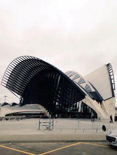 Lyon Train Station, France. Europe