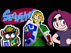 In this episode of Sequelitis, Egoraptor looks into what makes a good Zelda game and actually makes some insightful points about nostalgia and how it affects our perception of game franchises.