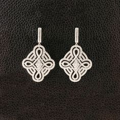 Diamond Chandelier Earrings – CRAIGER DRAKE DESIGNS®