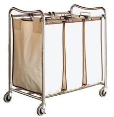 Laundry storage and organization will never be a problem with this heavy-duty laundry sorter! It is great for easy organization and makes it so much easier to do laundry.