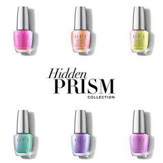 OPI Hidden Prism Collection Infinite Shine Interview Nails, Long Lasting Nail Polish, Hair And Makeup Tips, Fall Fashions, Opi Nails, Gel Color, Gel Nail Polish, Nail Artist, Natural Nails