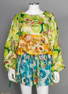 Apple Boutique Silk Dress, London, 1968, Augusta Auctions, November 12, 2014