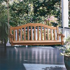 how to build your own porch swing - Front Porch Swing