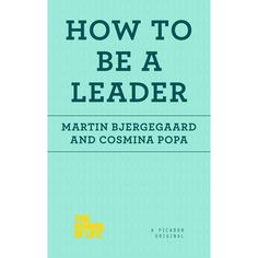 What does it really mean to take a leadership role?