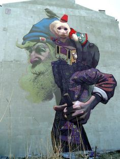 Etam Cru - Street Artists Bezt & Sainer