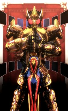 Kamen Rider Blade in king form   THE KAMEN RIDERS   Pinterest ...