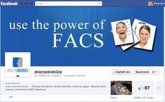 micromimics facebook fanpage, training micromimic & body language
