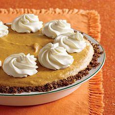 Pumpkin Chiffon Pie   MyRecipes.com