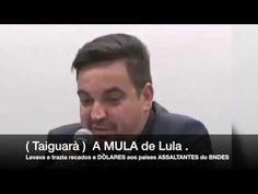 (Taiguara a MULA de LULA) Levava e trazia RECADOS e DÒLARES dos paises A...