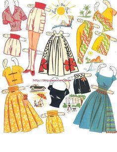 종이인형 (fashions for the modern miss) : 네이버 블로그