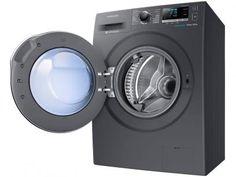 Lava e Seca Samsung 9kg Inox WD6000 - WD90J6410AX 13 Programas de Lavagem com as melhores condições você encontra no Magazine Raimundogarcia. Confira!
