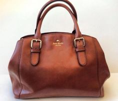 Kate Spade + brown purse