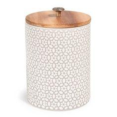 Keramikdose H 15 cm TRIBU