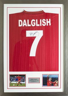 Kenny Dalglish made his debut, wearing Keegan's number seven shirt, on 13 August 1977 in the season opener at Wembley. Check it out at memorabilia outlet!