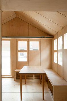 Liina Transitional Shelter / Aalto University Wood Program