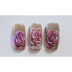 Pastel Flowers, Spring Flowers, Nails Plus, Rose Nail Art, Flower Nails, Nail Tutorials, Nails Inspiration, Nail Art Designs, Drawings