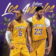 LeBron James x Anthony Davis - - Basketball Lebron James Lakers, Lakers Team, Nba Sports, Nba Basketball, Basketball Stuff, Basketball Quotes, Basketball Pictures, Nba Cheerleaders, Kobe Bryant Pictures