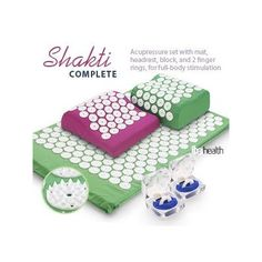 I found that regular use of an acupressure mat relieved my symptoms (I use mine every night even when I am away from home or on vacation) It relaxes muscular tension and balances the vital life forces of the body