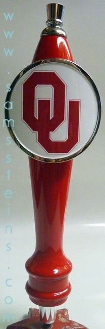 Oklahoma Sooners Beer Tap Handle - Sam's Man Cave