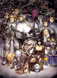 La Caste des Méta-Barons - Scénario : Alejandro Jodorowsky - Dessin : Juan Gimenez - Éditeur : Les Humanoïdes Associés