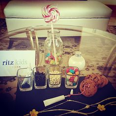 Ritz Kids at The Ritz-Carlton, Dubai International Financial Centre receive a fun in-room amenity complete with a cookie decorating kit and milk.