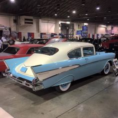 '57 Chevy BelAir Fastback! Not a big fan, not sure why, maybe if it was slammed and sectioned?
