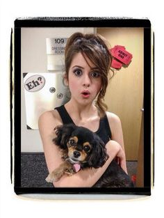 Photo: Laura Marano With Pixie October 18, 2013