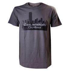 Camiseta Cazadores de sombras. Logo
