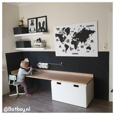 14 Trendy Bedroom Design and Decor Ideas for Your Next Makeover - The Trending House Toddler Rooms, Baby Boy Rooms, Trendy Bedroom, Girls Bedroom, Bedroom Ideas, Ikea Stuva, Cool Kids Rooms, Ikea Kids, Toy Rooms
