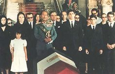 July 29, 1999: Mohammad Reza Shah's funeral in Cairo