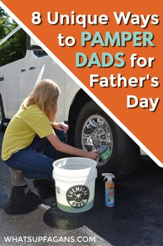 8 unique pamper dad gifts! These eight ideas will help you know exactly how to pamper dads for Father's Day (or any day of the year). Who says only women and moms like pampering? These will be sure to have dads feeling appreciated, special, and very loved by their kids. #chemicalguys #chemicalguysfamily #ad Thoughtful Gifts For Dad, I Love My Father, Feeling Appreciated, Four Kids, Dad Gifts, Household Chores, Work From Home Moms, Family Travel, Fathers Day