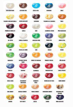 DE LUNARES Y NARANJAS: Mis caramelos preferidos: Jelly belly beans