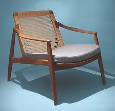 Easy Chair by Poul M. Volther for Gemla - Pamono