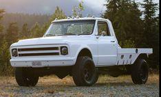 67 72 Chevy Truck, Chevy Pickup Trucks, Classic Chevy Trucks, Chevy Pickups, Chevrolet Trucks, Flatbeds For Pickups, Truck Flatbeds, Shop Truck, Big Rig Trucks