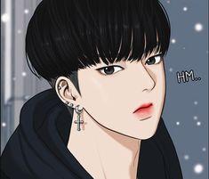 Seojun Han | True Beauty | The Secret Of Angel Beauty Web, True Beauty, Suho, Ideal Boyfriend, Body Figure, Webtoon Comics, Cute Anime Guys, Anime Boys, Handsome Anime