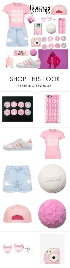 """""""Hotline Bling"""" by mayadella ❤ liked on Polyvore featuring Casetify, adidas Originals, Topshop, Suzy Levian and Essie"""