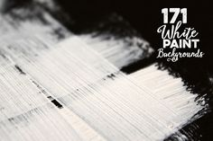 171 Abstract White Paint Backgrounds by Cruzine on Creative Market