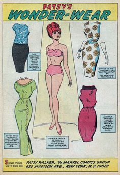 Out Of This World: Cute Girlie Stuff: Paper Dolls and Katy Keene
