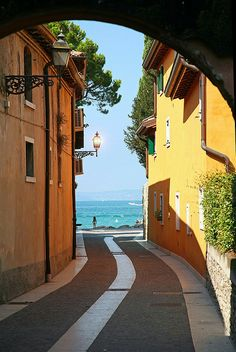 Garda Town, Lake Garda, Italy