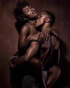 Sexy Black couple sexe